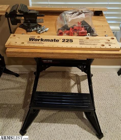 black and decker workmate reloading bench armslist for sale reloading bench black decker