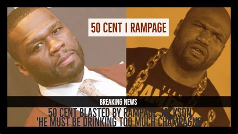 50 cent ufc 50 cent blasted by rage jackson in ufc response youtube