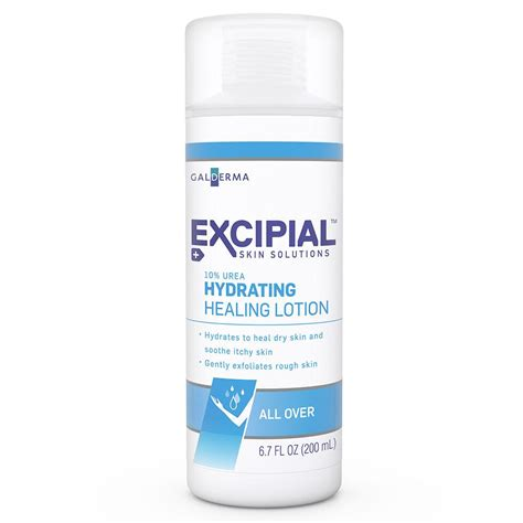 hydration lotion excipial urea hydrating healing lotion 6 7