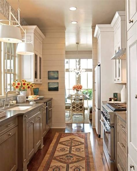 4 decorating ideas how to make a galley kitchen look 24 best images about galley kitchens on pinterest galley