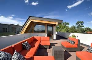 House Plans With Roof Deck Terrace by Rooftop Terrace Shield House Colorado By Studio H T