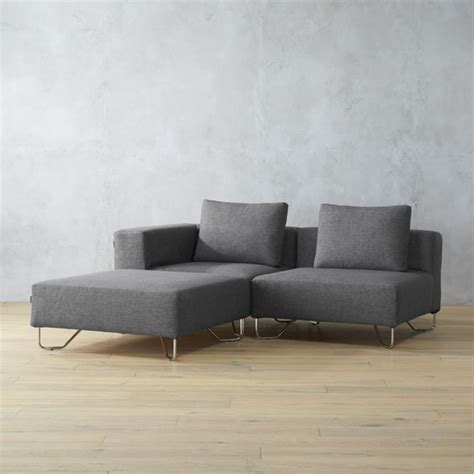 cb2 sectional sofa low profile sofa low profile sofas cb2 thesofa