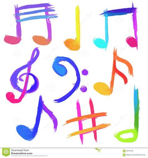 imagenes de simbolos foneticos s 237 mbolos musicales imagen de archivo imagen de melod 237 a