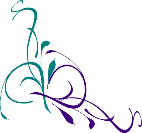 Swirl L floral swirl clip at clker vector clip