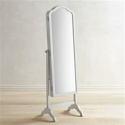 Pier One Hayworth Jewelry Armoire by Hayworth Floor Mirror Armoire Silver Pier 1 Imports