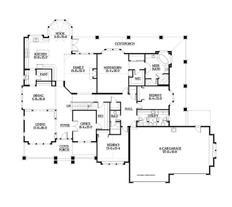 floor plans for 4000 sq ft house 4000 square feet house plans quotes