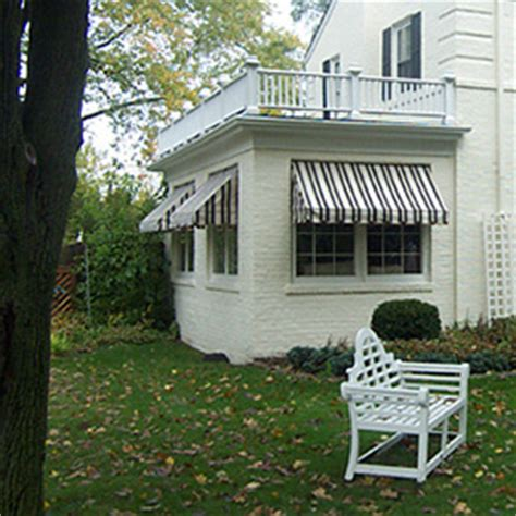 traditional awnings traditional canvas awnings chesterfield awning