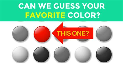 what is my favorite color quiz can we guess your favorite color in just 5 questions