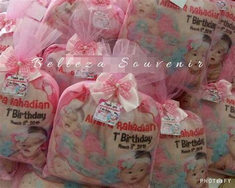 Souvenir Aqiqah Ulang Tahun jual souvenir bantal ulang tahun baby born 1 month