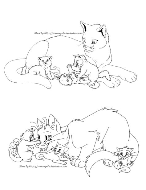 cat family coloring page how to draw case quadtrak