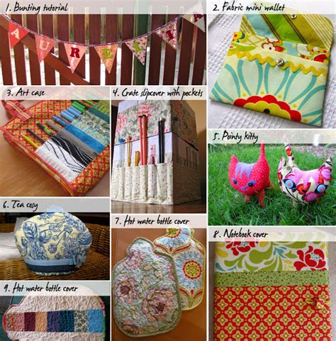 Sewn Patchwork Projects - last minute handmade gifts sewing tutorials and patterns