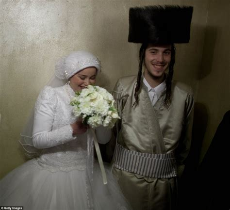 tv show of jewish woman who marries a black young couple s ultra orthodox jewish wedding in jerusalem