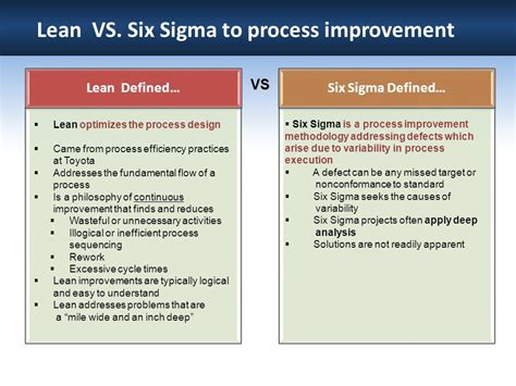 is there a lean six sigma alternative bems perigon method