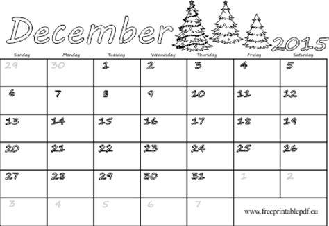 december  calendar printable  mini image