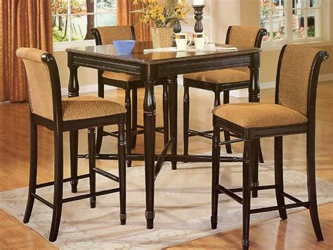 High Top Dining Room Table High Dining Room Tables Dining Room Tables Modern Sets Glass