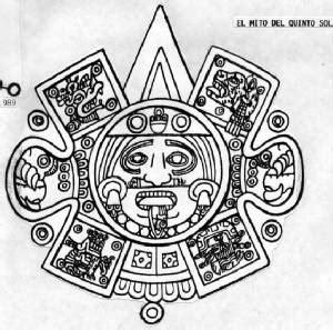 imagenes de jeroglíficos olmecas el quinto sol resumen 2012