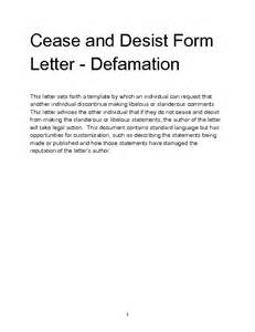 Cease And Desist Letter Template Slander by Cease And Desist Slander Letter Template The Amazing