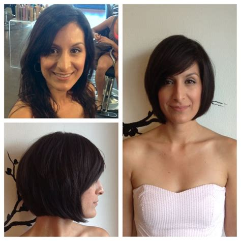 before and after bob haircut photos pinterest discover and save creative ideas