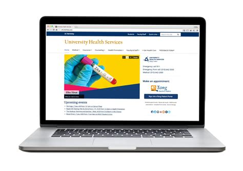It S Here Announcing The Launch Of Our Newly Redesigned Website University Health Services Website Launch Template