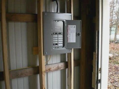 run underground wiring   garage   house