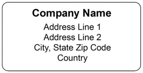 Free Printable Return Mailing Address Label Template Free Mailing Label Template For Word