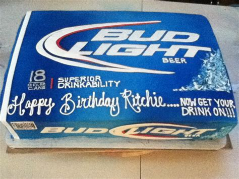 bud light party box bridal showers bachelor parties grooms cakes