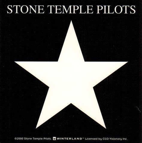 Sticker No 4 temple pilots logo sticker