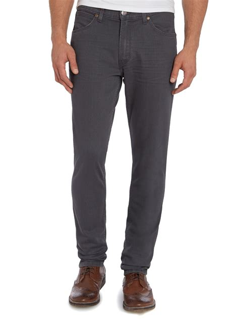 Wrangler Slim Fit Wrangler Bostin Grey Cloud Slim Fit Jean In Gray For