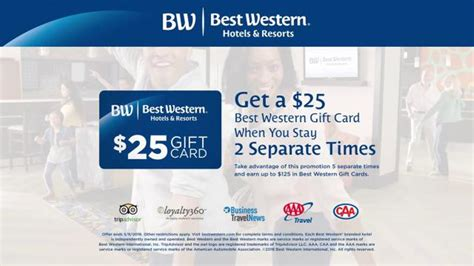 Best Western Gift Card - best western tv spot victory dance gift card ispot tv
