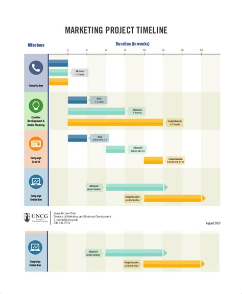 project timeline exle 8 free word pdf documents