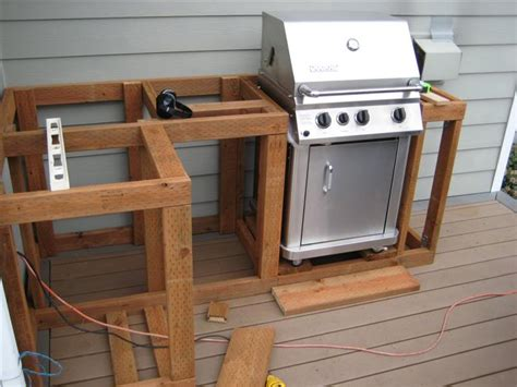 How To Build A Backyard Kitchen how to build outdoor kitchen cabinets