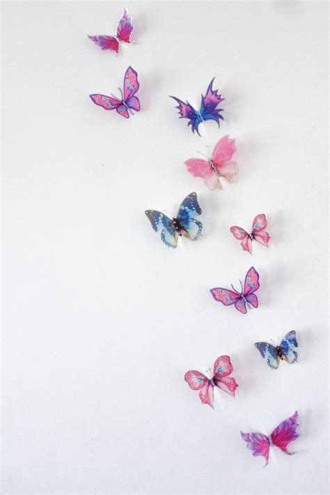10 x 3d butterfly wall decals wall butterfly wall