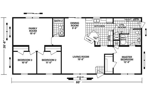 schult floor plans manufactured home floor plan 2009 schult lifestyle 6028