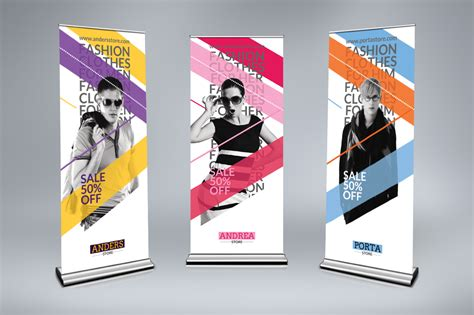 design roller banner roll up banner 800 x 2000mm 16printing i design