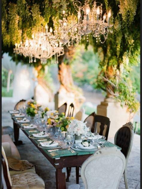 charming chandelier ideas   garden