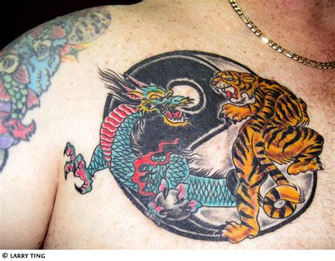 dragon tiger tattoo gallery