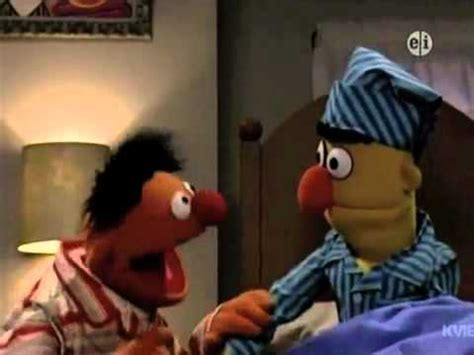 bert and ernie in bed sesame street ernie and bert sing about quot sleep quot youtube