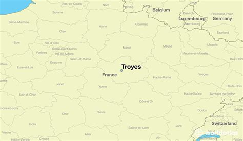 troyes map where is troyes troyes chagne ardenne map