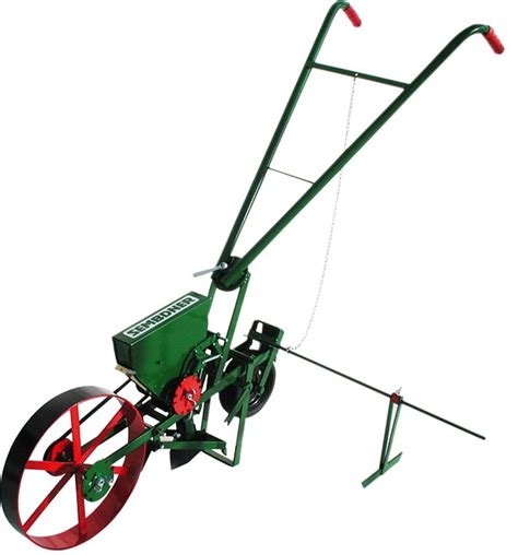 Manual Seed Planter by Seed Drills For Growing Of Vegetables Towed Seed Drills