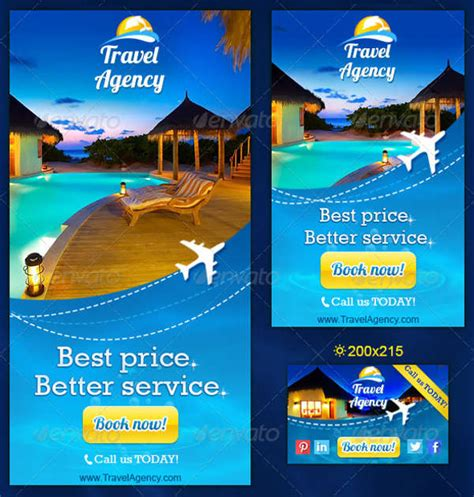 design banner travel 25 printable banner designs