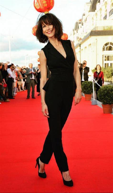 sophie marceau la tentacin francesa galera de fotos sophie marceau total black los mejores look de la