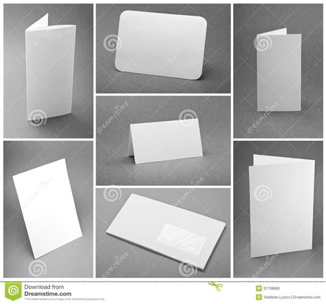 Paper Folding Templates For Print Design - paper folding templates for print design blank white