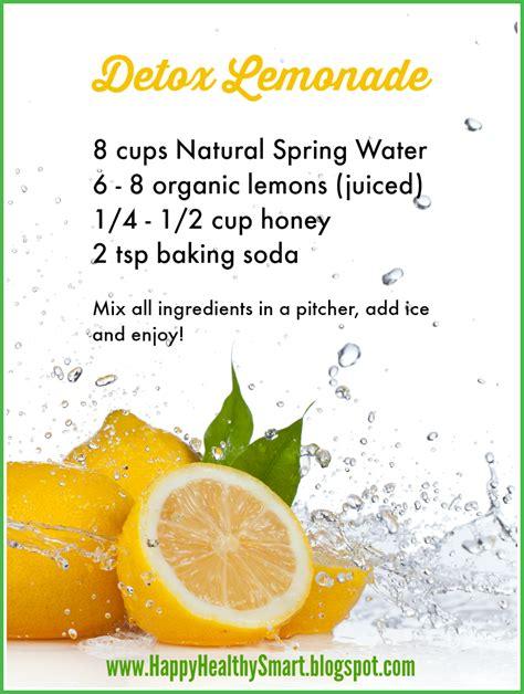 2 Day Lemon Water Detox by Happy Healthy Smart 20 Reasons To Drink Lemon Water