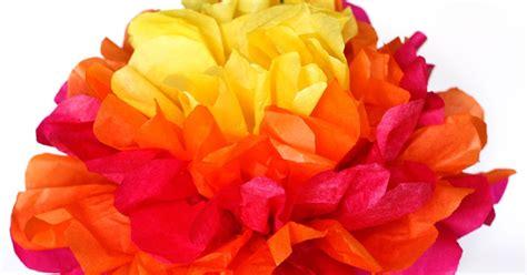 tissue paper flower centerpieces one crafty easy tissue paper flower centerpieces
