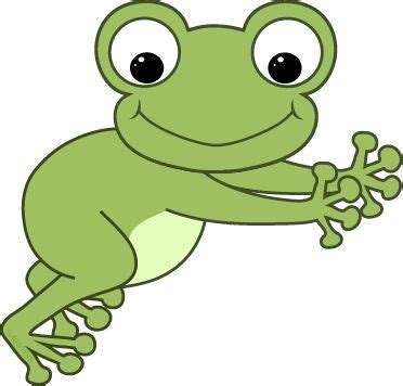 Hopping Frog Clipart