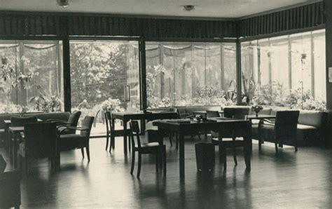 moderner wintergarten 1951 architektur des mutterhauses neuvandsburg elbingerode