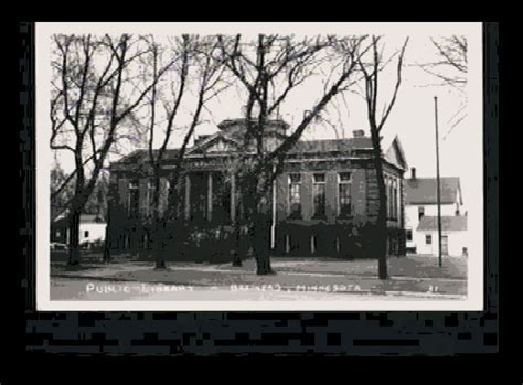 Brainerd Post Office by Photo Brainerd Library Built 1904 From A Mid