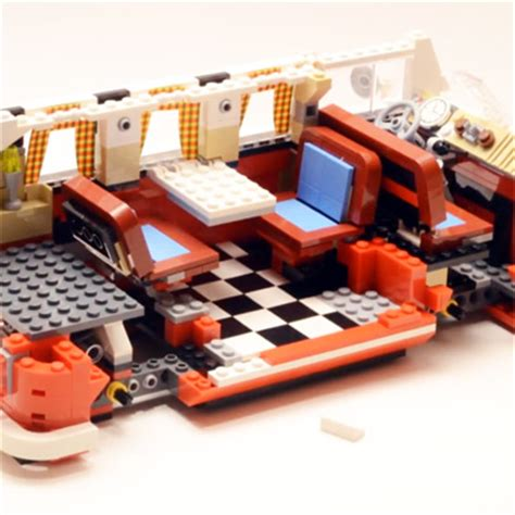lego volkswagen inside lego volkswagen t1 cer lapse build