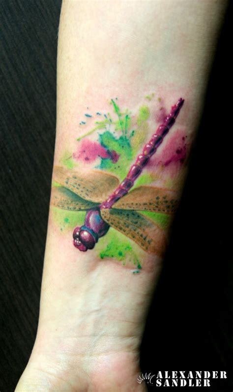 watercolor tattoo best best 25 watercolor dragonfly ideas on