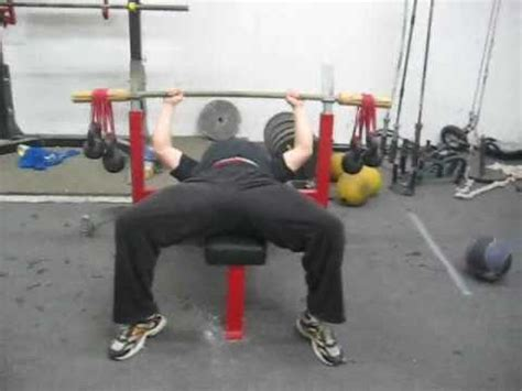 bamboo bench bar bamboo bar bench press at westside barbell youtube